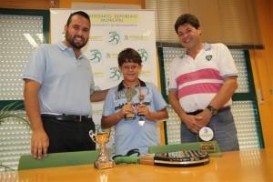Reconocimiento por el tercer puesto en el Campeonato de España de Pádel de Menores 2011