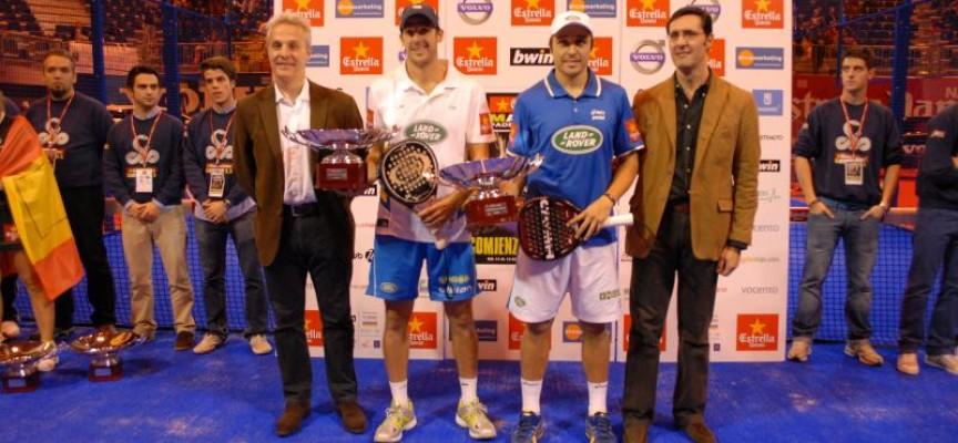 Campeones del Máster de Pádel Pro Tour 2011: Bela y Martín Díaz agrandan su leyenda