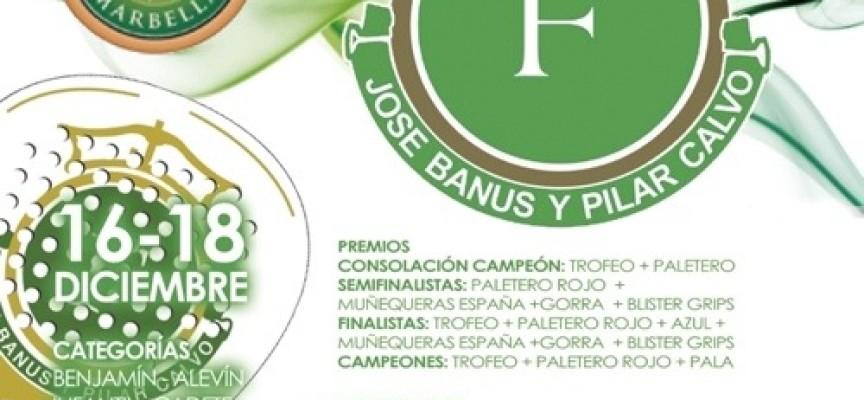 Torneo para promesas del pádel en Marbella de la mano de la Fundación Banús