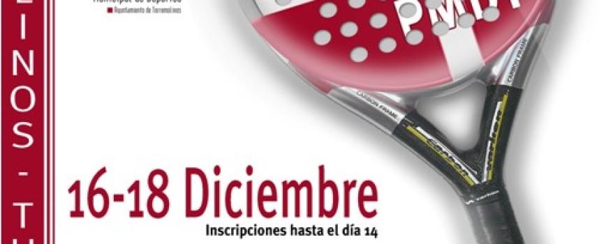 El pádel llega al Patronato Municipal de Deportes de Torremolinos por Navidad
