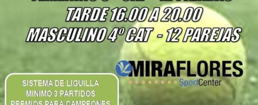 Intenso Día de Pádel en Miraflores Sport Center (Málaga)
