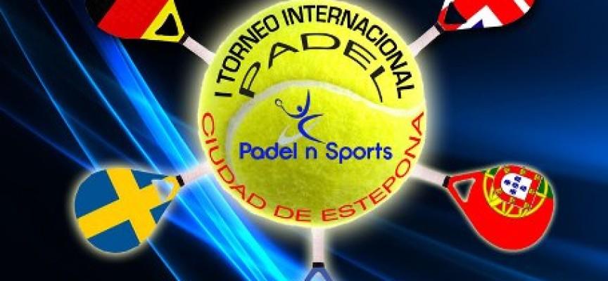 Cinco selecciones europeas se dan cita en Estepona para el I Torneo Internacional de Pádel por Equipos