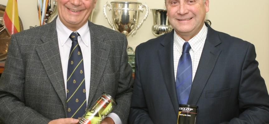 Dunlop: pelota oficial de la Federación Española de Pádel en 2012