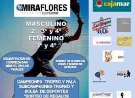 Miraflores Sport Center combate el frío con su X Torneo de Pádel de Invierno