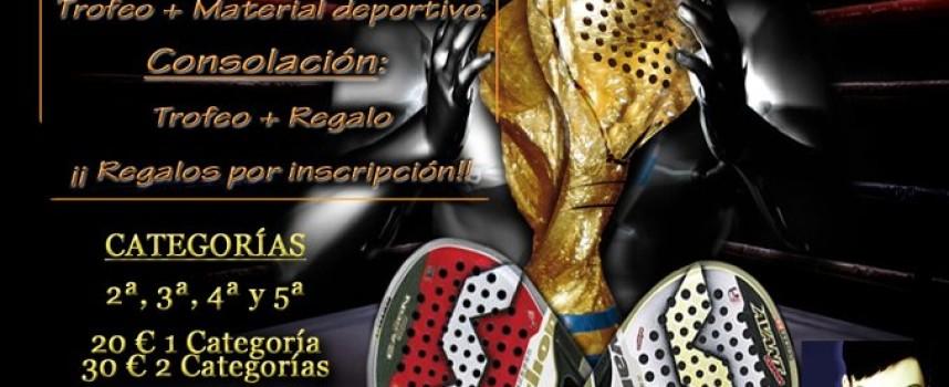 Vélez Málaga acogerá un torneo de pádel lleno de pasión