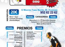 Churriana celebra el nuevo año con un torneo de pádel (Málaga)