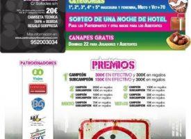 El Centro Deportivo El Cónsul prepara el primer Torneo de Pádel Distrito 11 (Málaga)
