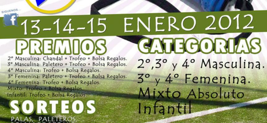 Arranca el pádel en 2012 en el Club de Tenis de Málaga