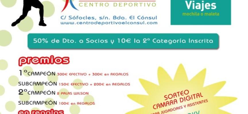 Pádel para viajeros con 'Mochila o Maleta' en El Cónsul (Málaga)