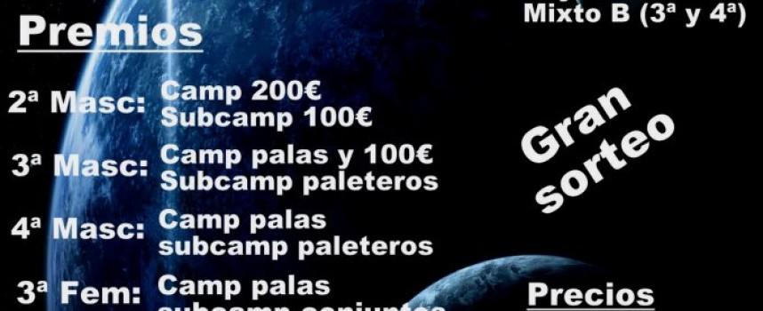 Primer Torneo Cristalpadel del año en el Centro Raqueta de Churriana (Málaga)