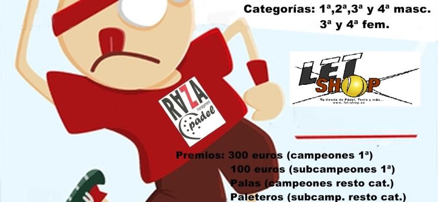 El Racket Club Fuengirola prepara su primer torneo de pádel de 2012