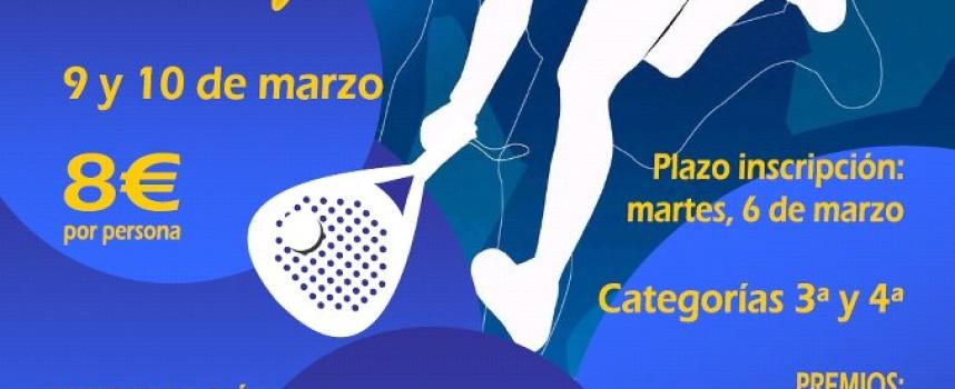 Manilva organiza un torneo de pádel femenino por el Día Internacional de las Mujeres
