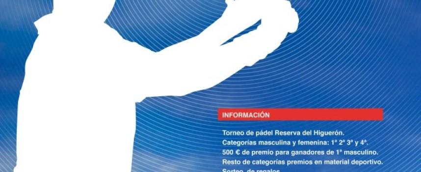 Los campeones de 1ª masculina del Torneo de Reserva del Higuerón recibirán 500€