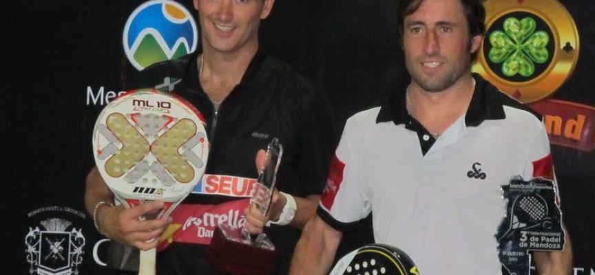 """Lamperti y Grabiel estrenan victoria en Mendoza con el """"Torneo de las Sorpresas"""""""