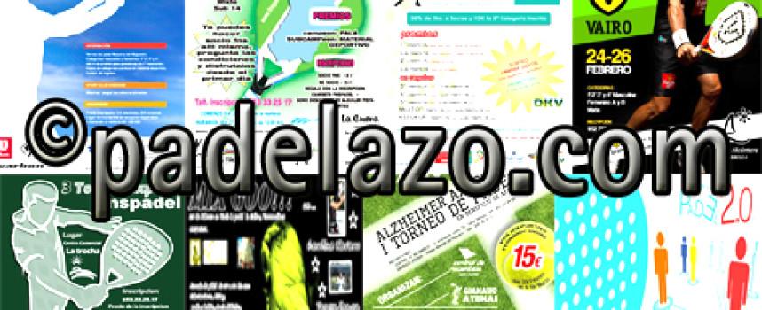 Cinco citas imprescindibles de pádel para competir este fin de semana en Málaga