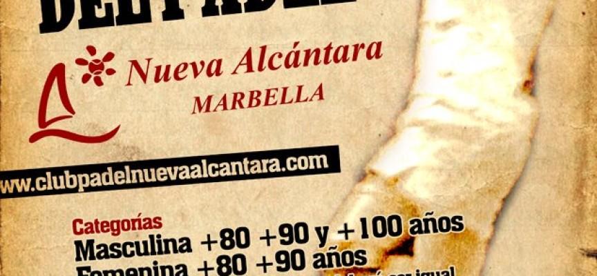 Nueva Alcántara apuesta por la veteranía en su I Open Glorias del Pádel