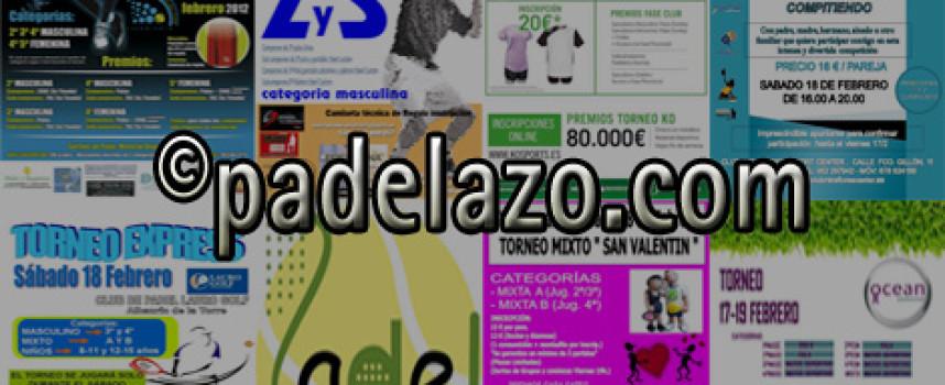 Apasionante fin de semana con hasta ocho competiciones de pádel en la provincia de Málaga
