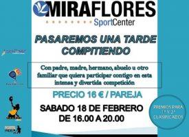 Tarde de pádel familiar en Miraflores Sport Center (Málaga)