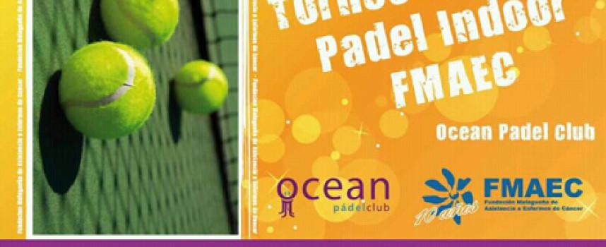 Torneo de pádel para ayudar a personas enfermas de cáncer en Ocean Pádel Club