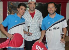 Salinas y Valenzuela conquistan el Racket Club Fuengirola a ritmo de vértigo