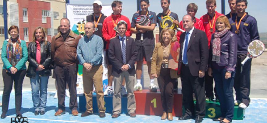 Murcia y Granada se doctoran en el Campeonato de España Universitario de Pádel