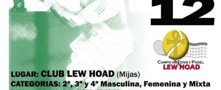 Lew Hoad acoge el Torneo de Pádel Primavera Onda Cero