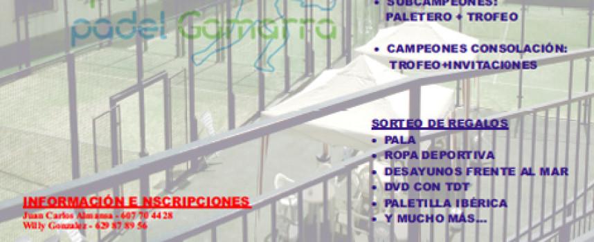 Sport Pádel Gamarra organiza un gran torneo de pádel con hasta nueve categorías