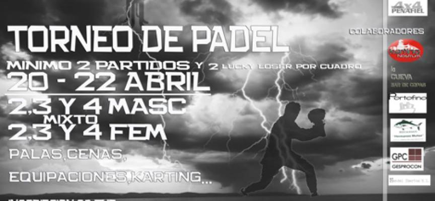 Ocean Pádel prepara su torneo del mes de abril