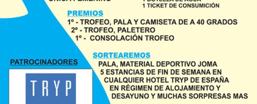 Estreno del club de Pádel Rincón de la Victoria con un torneo en Serramar