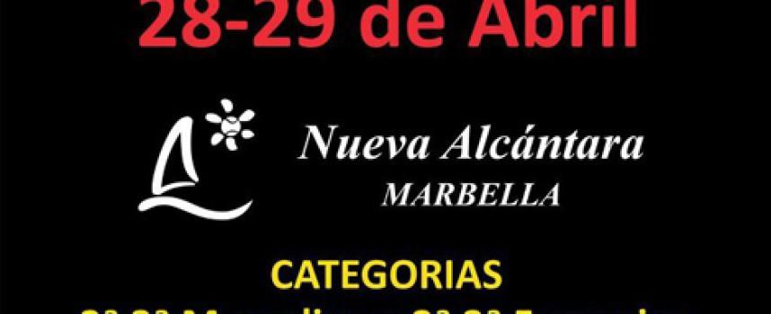 Nueva Alcántara recupera el II Torneo Rápido de Pádel Under Armour aplazado en abril por la lluvia