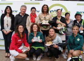 Casi medio millar de jugadoras convierten en éxito la primera prueba del Circuito DKV Pádel Women Tour en Málaga