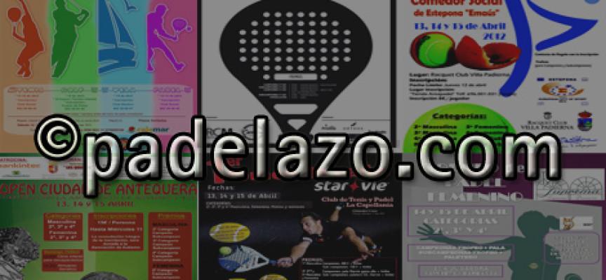 El pádel recobra el pulso en la provincia de Málaga con hasta siete torneos este fin de semana