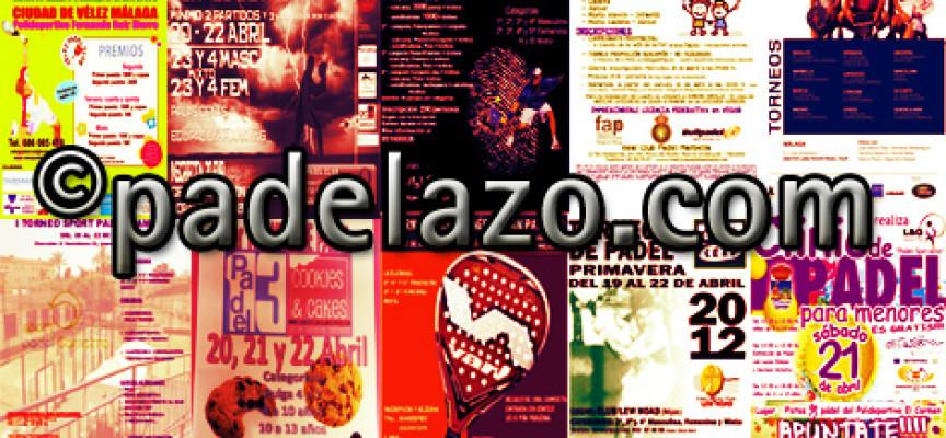 Málaga vivirá su gran fin de semana de pádel con hasta 11 torneos en la provincia
