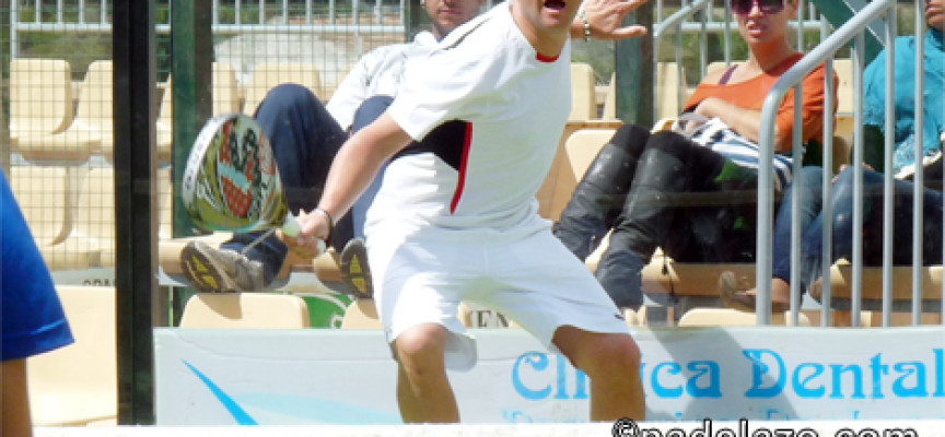 Nacho y Coco doblegan al viento para triunfar en la 3ª del I Torneo Pádel Time x 4 en Coín La Trocha