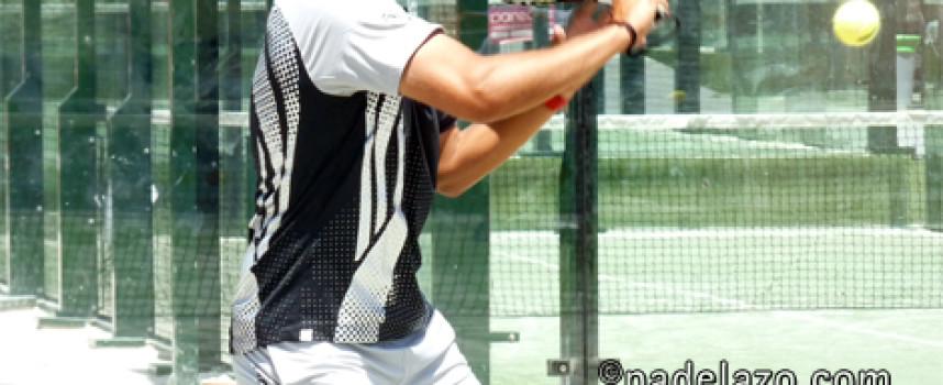 Épica remontada de Willy Ruiz y Fran Tobaria en la final de 1ª masculina del Torneo Transportes Souto