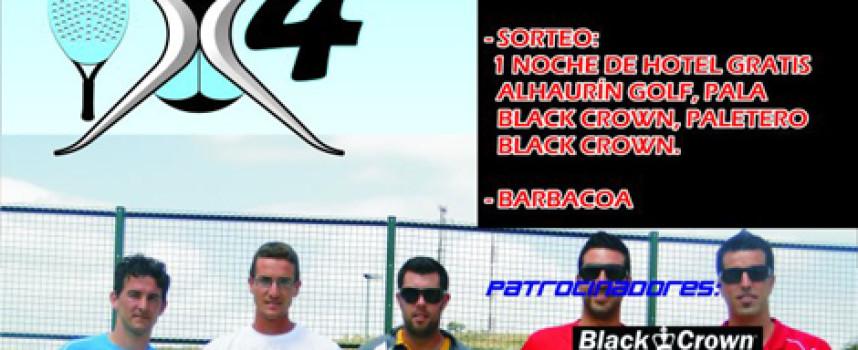 Coín La Trocha acoge el I Torneo de Pádel Time x 4 con premios en metálico