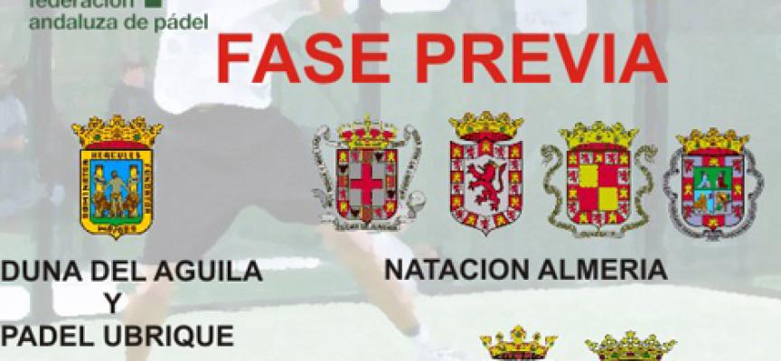 La Capellanía acoge la previa provincial del Campeonato de Andalucía de Pádel por Equipos de 3ª