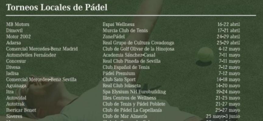 El club La Capellanía se estrena con un torneo del XVI Mercedes Tenis & Padel Tour