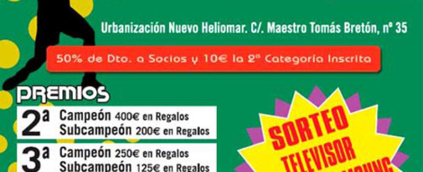 El Centro de Raqueta Churriana organiza su segundo torneo de pádel con importantes premios