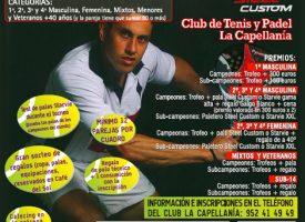 El club La Capellanía abre sus puertas al verano con un gran torneo de pádel
