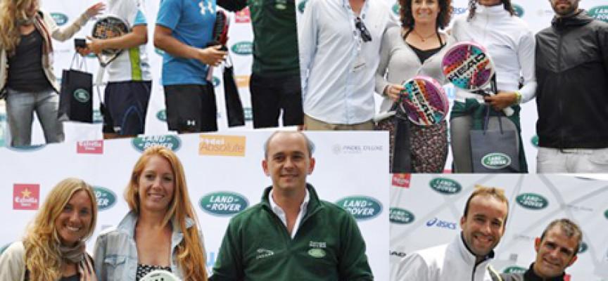 El pádel malagueño conquista Granada en la quinta prueba del Land Rover Padel Tour 2012