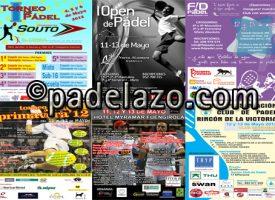 Seis torneos de pádel asoman por el horizonte del fin de semana en Málaga