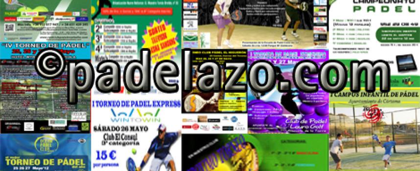 Diez torneos y un campus infantil desatan la fiebre del pádel en Málaga este fin de semana