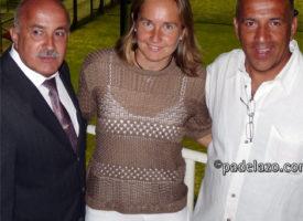 Carolina Navarro ilumina la puesta de largo del club de Pádel Los Caballeros en Benalmádena