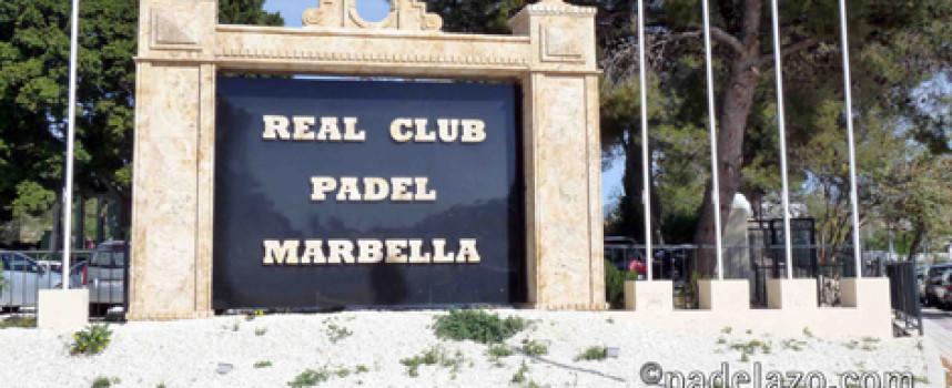 El Real Club Pádel Marbella sustituye el Torneo Cesare Scariolo por problemas de agenda