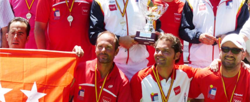 Madrid arrebata la gloria a Andalucía en el Campeonato de España de Pádel de Veteranos por Comunidades Autónomas