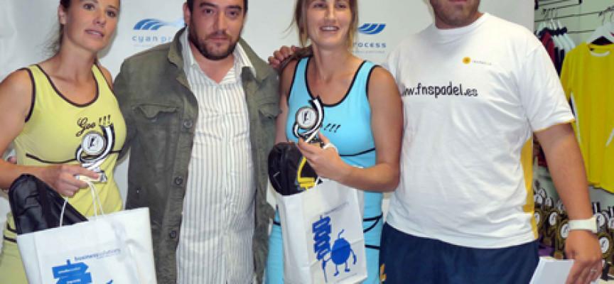 El Torneo Cyan Process pone el espectáculo a cubierto con más de 100 parejas en el Ocean Pádel Club