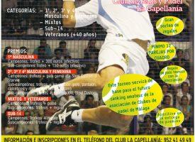 La primavera del pádel llega a La Capellanía con un gran torneo a mitad de mayo