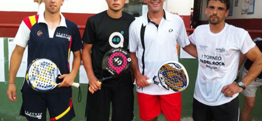 El Centro de Raqueta de Churriana combina el pádel y el rock en un torneo espectacular