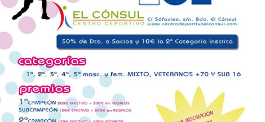 101 Tv se estrena en el pádel con un gran torneo en el Centro Deportivo El Cónsul